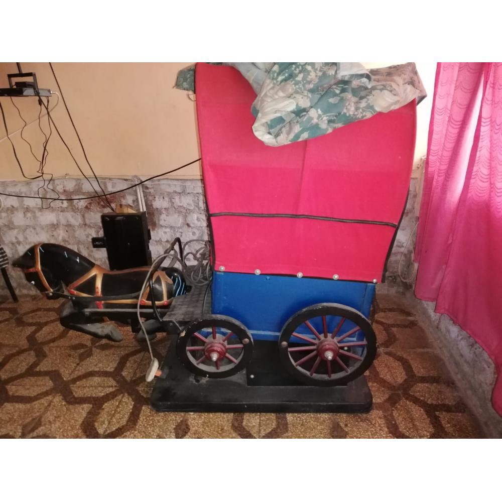 Si buscas juego mecanico tipo mesedora Diligencia del oeste puedes comprarlo con jesusbessomb12 está en venta al mejor precio